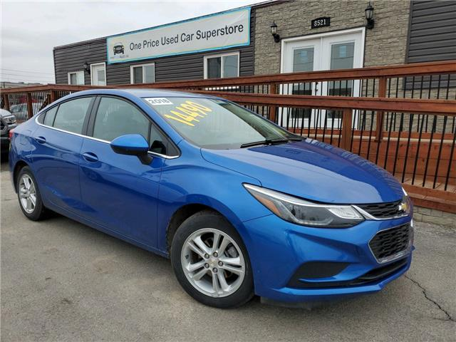 2018 Chevrolet Cruze LT Auto (Stk: 10580) in Milton - Image 1 of 23