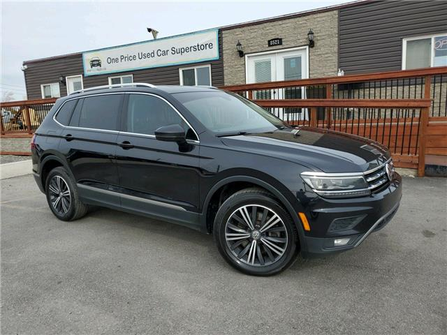 2018 Volkswagen Tiguan Highline (Stk: 10812) in Milton - Image 1 of 30