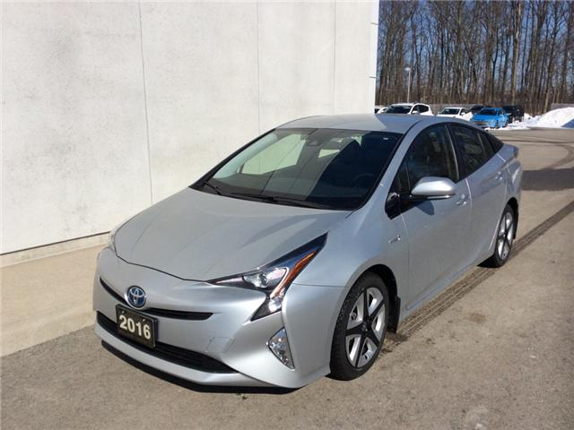 2016 Toyota Prius Touring (Stk: CAH5348A) in Welland - Image 1 of 21