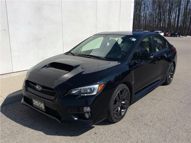 2016 Subaru WRX Sport-tech Package (Stk: P3400) in Welland - Image 1 of 26