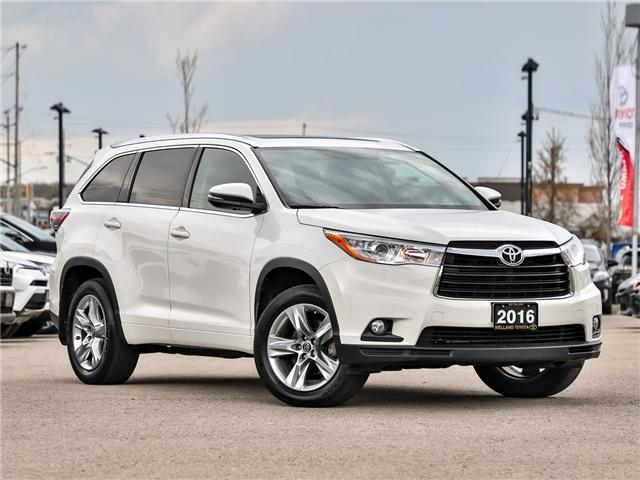 2016 Toyota Highlander Limited (Stk: P3453) in Welland - Image 1 of 24
