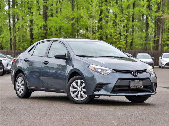 2014 Toyota Corolla LE (Stk: YAH6545A) in Welland - Image 1 of 23