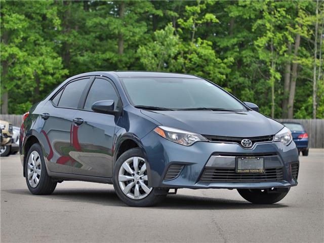 2016 Toyota Corolla LE (Stk: P3467) in Welland - Image 1 of 20