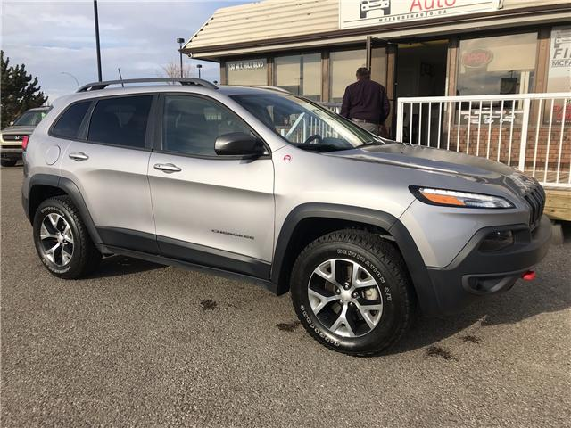 2018 Jeep Cherokee Trailhawk (Stk: B2131) in Lethbridge - Image 1 of 23