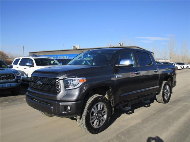 2019 Toyota Tundra Platinum 5.7L V8 (Stk: 199005) in Moose Jaw - Image 1 of 31
