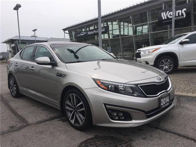 2014 Kia Optima SX Turbo (Stk: 1693W) in Oakville - Image 1 of 30