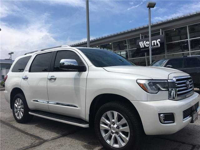 2018 Toyota Sequoia Platinum 5.7L V8 (Stk: 1744W) in Oakville - Image 1 of 30