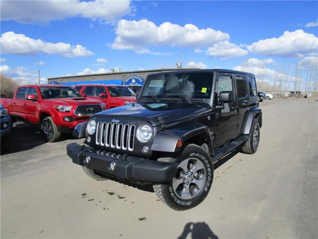 2017 Jeep Wrangler Unlimited Sahara (Stk: 7869) in Moose Jaw - Image 1 of 29