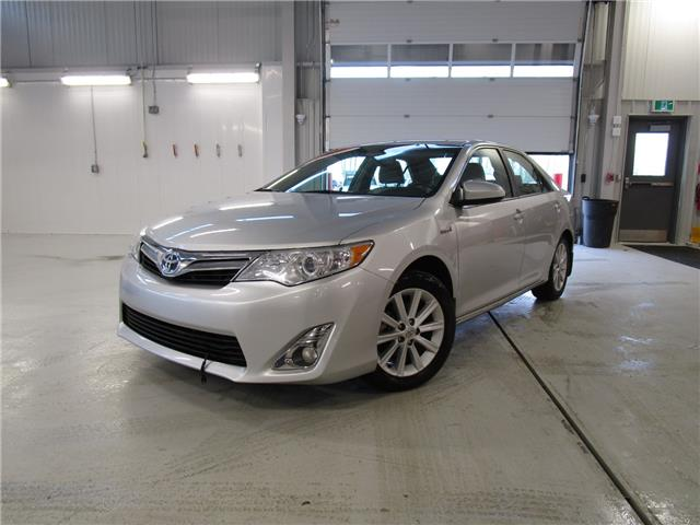 2013 Toyota Camry Hybrid XLE (Stk: 1992421 ) in Moose Jaw - Image 1 of 34