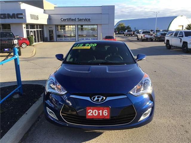 2016 Hyundai Veloster  (Stk: J670A) in Grimsby - Image 1 of 12