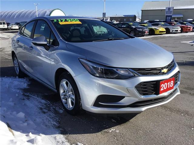 2018 Chevrolet Cruze LT Auto (Stk: 186240R) in Grimsby - Image 2 of 14