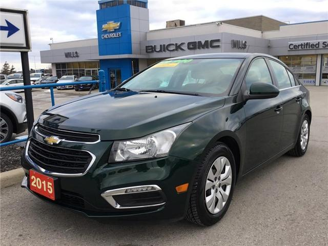 2015 Chevrolet Cruze 1LT (Stk: 150001) in Grimsby - Image 1 of 14