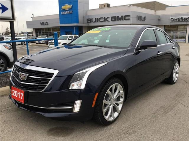 2017 Cadillac ATS 3.6L Premium Luxury (Stk: 174541) in Grimsby - Image 1 of 15