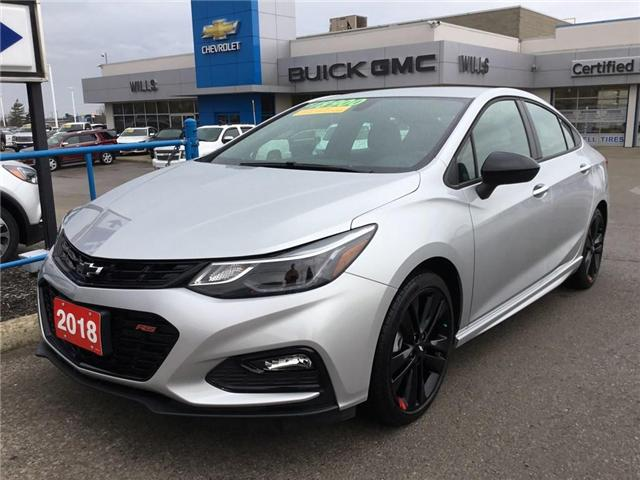 2018 Chevrolet Cruze LT Auto (Stk: 186793) in Grimsby - Image 1 of 14