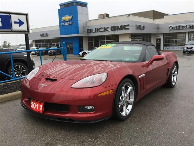 2011 Chevrolet Corvette Grand Sport (Stk: K373A) in Grimsby - Image 1 of 14