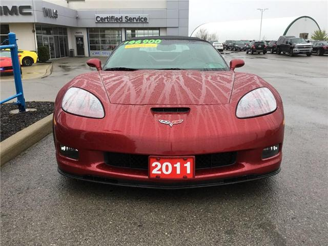 2011 Chevrolet Corvette Grand Sport (Stk: K373A) in Grimsby - Image 2 of 14