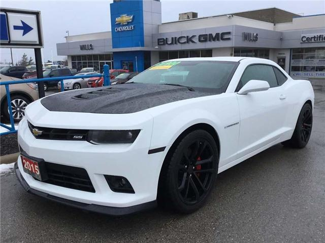 2015 Chevrolet Camaro 1SS (Stk: K201A) in Grimsby - Image 1 of 14