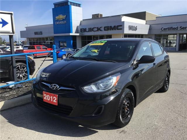 2012 Hyundai Accent  (Stk: K213A) in Grimsby - Image 1 of 14