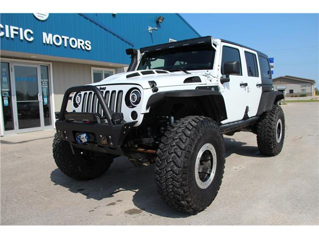 2012 Jeep Wrangler Unlimited 24V Call of Duty II (DISC) (Stk: P9183) in Headingley - Image 1 of 30