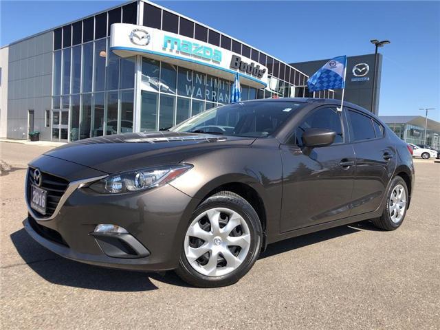 2016 Mazda Mazda3 GX (Stk: P3422) in Oakville - Image 1 of 18