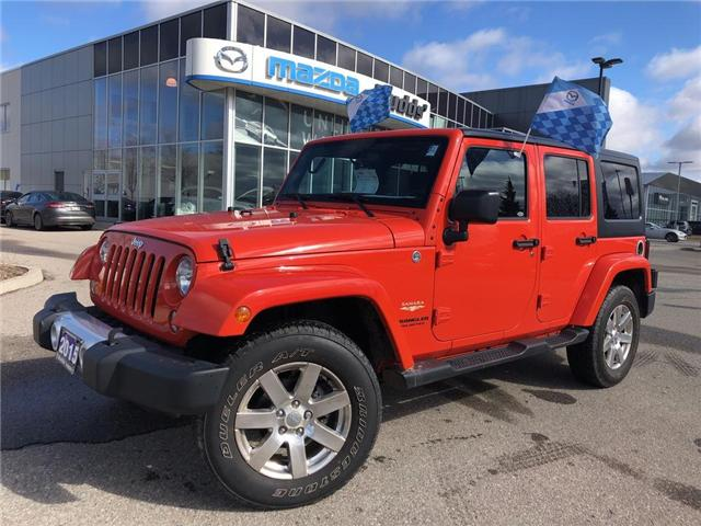 2015 Jeep Wrangler Unlimited Sahara (Stk: P3404) in Oakville - Image 1 of 18