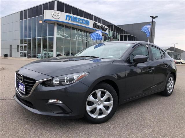 2015 Mazda Mazda3 GX (Stk: P3445) in Oakville - Image 1 of 18