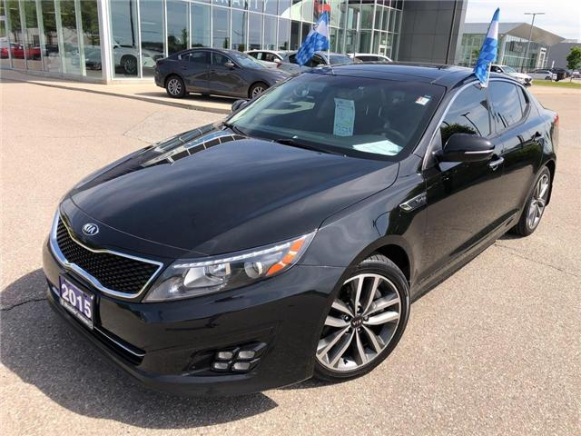 2015 Kia Optima SX Turbo (Stk: P3449) in Oakville - Image 1 of 20