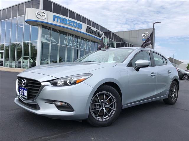 2018 Mazda Mazda3 Sport GX (Stk: P3599) in Oakville - Image 1 of 18