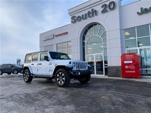 2018 Jeep Wrangler Unlimited Sahara (Stk: 32183) in Humboldt - Image 1 of 22