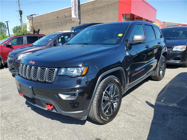 2020 Jeep Grand Cherokee Trailhawk (Stk: R9445) in Ottawa - Image 1 of 4