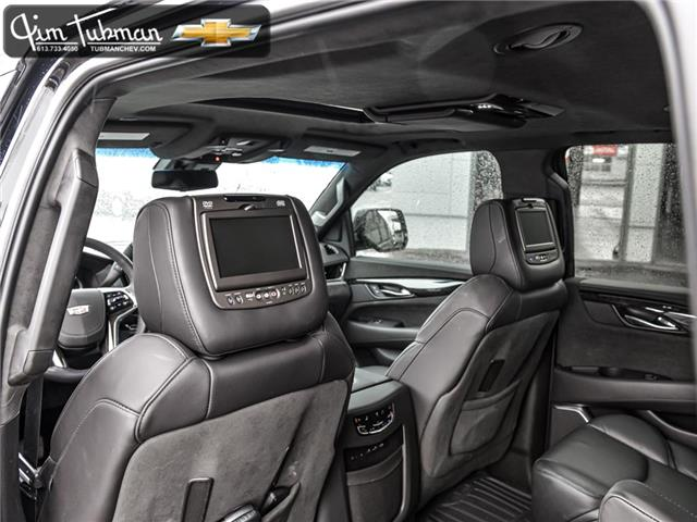 2019 Cadillac Escalade Platinum (Stk: P7928) in Ottawa - Image 17 of 25