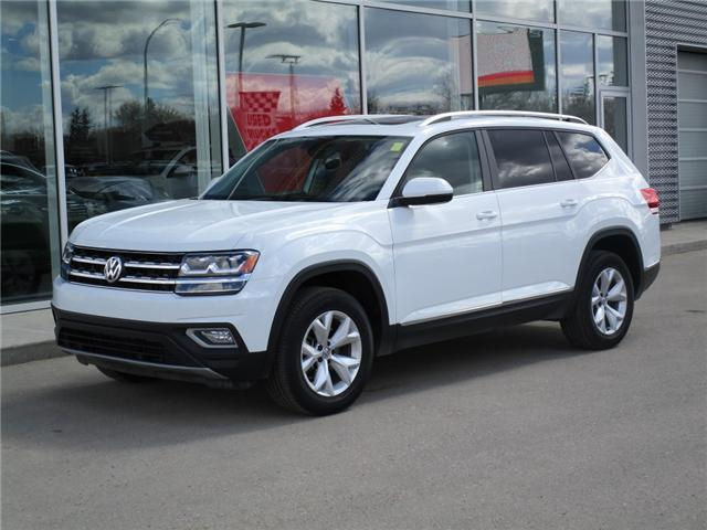 2018 Volkswagen Atlas 3.6 FSI Highline (Stk: 6521) in Regina - Image 1 of 24