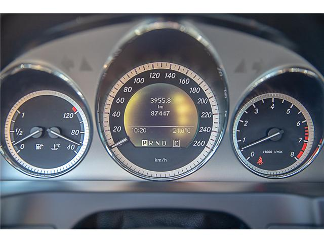 2010 Mercedes-Benz C-Class Base (Stk: M1257) in Abbotsford - Image 17 of 22