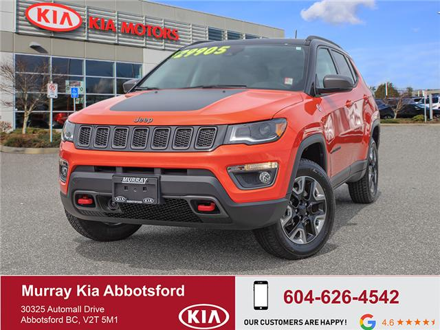 2018 Jeep Compass Trailhawk (Stk: SV02644A) in Abbotsford - Image 1 of 29