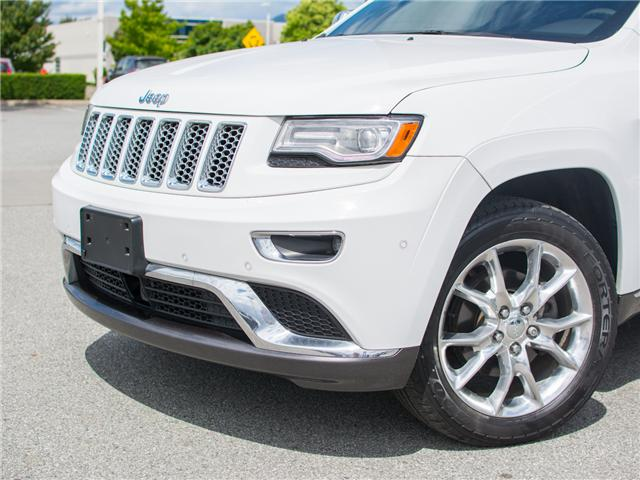 2014 Jeep Grand Cherokee Summit (Stk: 7M206A) in Chilliwack - Image 2 of 25