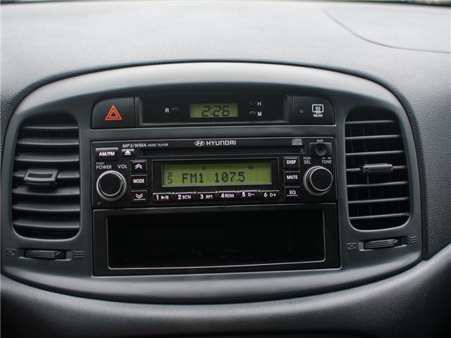 2009 Hyundai Accent GL (Stk: B0322C) in Chilliwack - Image 10 of 14