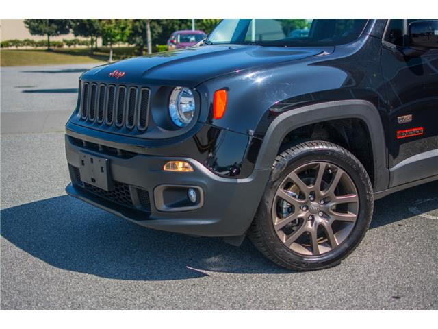 2016 Jeep Renegade 27F 75th Anniversary (Stk: 9M096B) in Chilliwack - Image 2 of 28