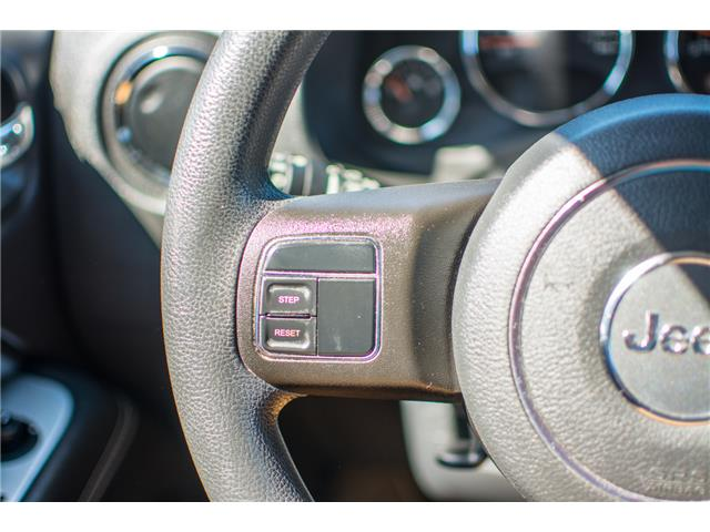 2014 Jeep Compass Sport/North (Stk: B0336) in Chilliwack - Image 13 of 23