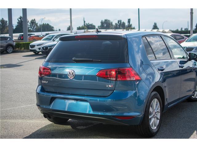 2016 Volkswagen Golf 1.8 TSI Comfortline (Stk: 9M162A) in Chilliwack - Image 5 of 22