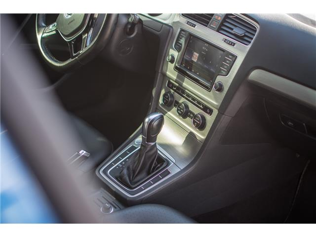 2016 Volkswagen Golf 1.8 TSI Comfortline (Stk: 9M162A) in Chilliwack - Image 10 of 22
