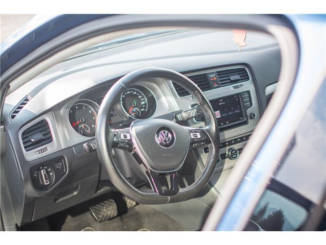 2016 Volkswagen Golf 1.8 TSI Comfortline (Stk: 9M162A) in Chilliwack - Image 11 of 22
