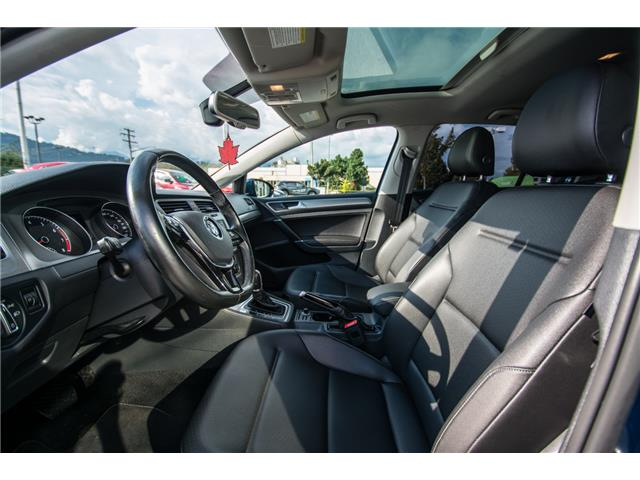 2016 Volkswagen Golf 1.8 TSI Comfortline (Stk: 9M162A) in Chilliwack - Image 19 of 22