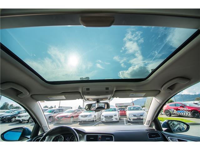 2016 Volkswagen Golf 1.8 TSI Comfortline (Stk: 9M162A) in Chilliwack - Image 20 of 22