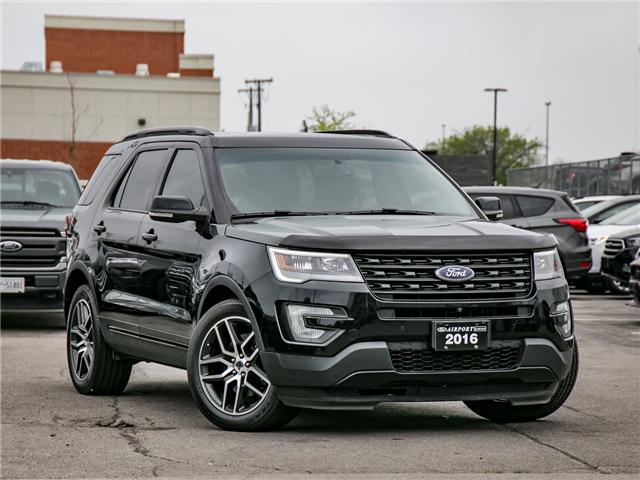 2016 Ford Explorer Sport (Stk: 1HL136X) in Hamilton - Image 1 of 29
