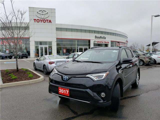 2017 Toyota RAV4 Hybrid Limited (Stk: P1803) in Whitchurch-Stouffville - Image 1 of 17