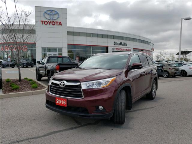 2016 Toyota Highlander XLE (Stk: 190362A) in Whitchurch-Stouffville - Image 1 of 14