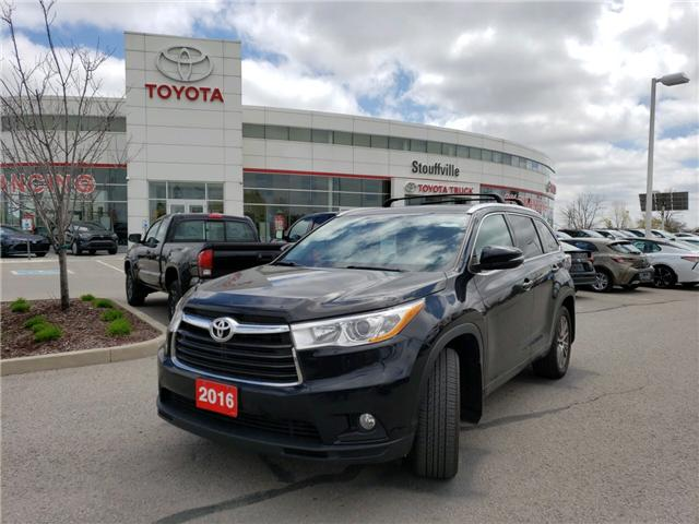 2016 Toyota Highlander XLE (Stk: 190206A) in Whitchurch-Stouffville - Image 1 of 17