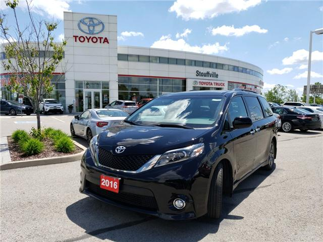 2016 Toyota Sienna SE 8 Passenger (Stk: P1843) in Whitchurch-Stouffville - Image 1 of 13