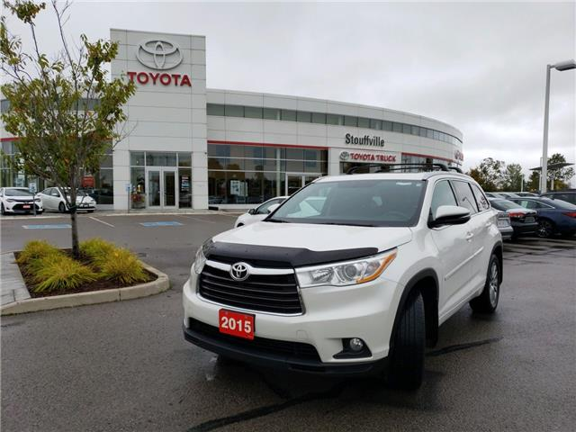 2015 Toyota Highlander XLE (Stk: P1954) in Whitchurch-Stouffville - Image 1 of 18