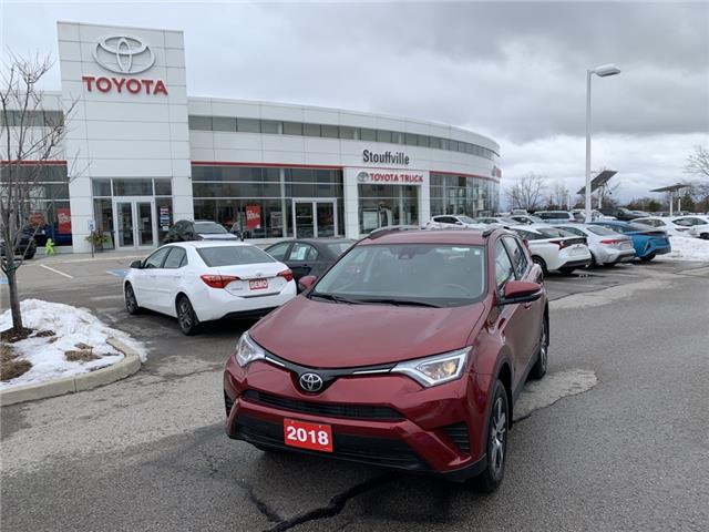 2018 Toyota RAV4 LE (Stk: P2014) in Whitchurch-Stouffville - Image 1 of 10